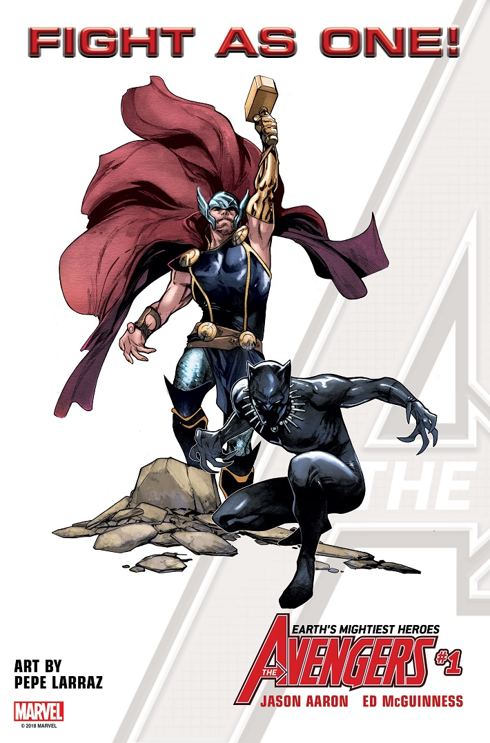 FIGHTASONE_BP_THOR The all-new Avengers roster to include Black Panther and Thor