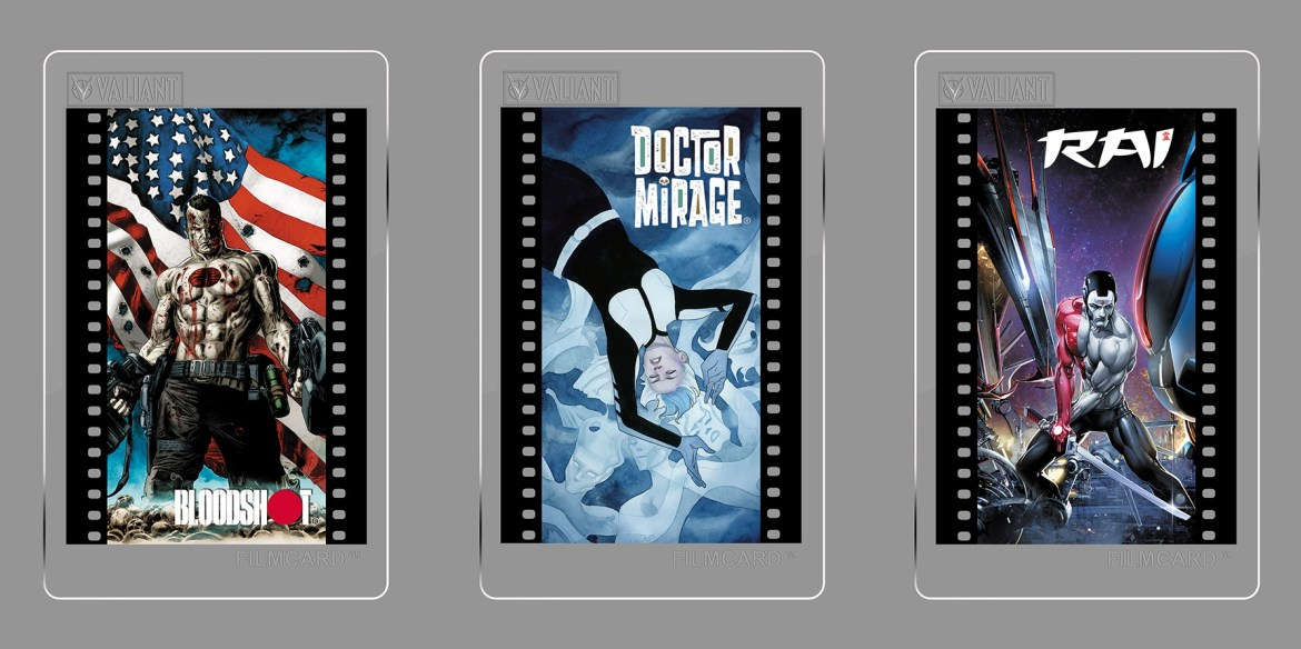 FILMCARDS Get it all in Valiant: The Complete Digital Comic Book Collection