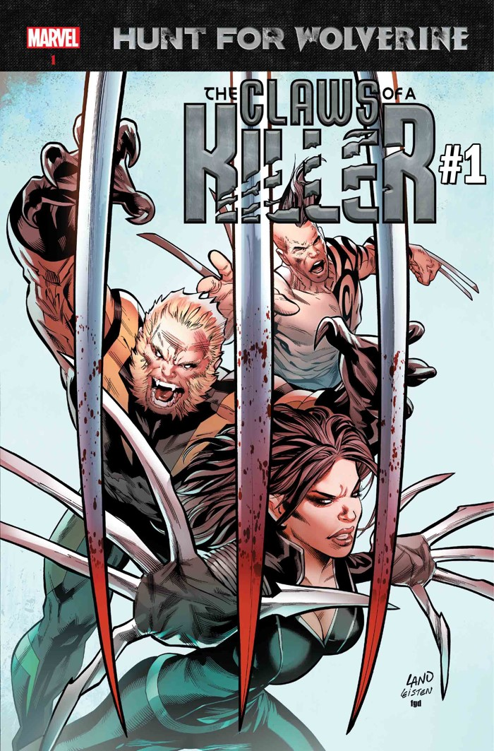 HFW_CLAWSKILLER_CVR THE HUNT FOR WOLVERINE mysteriously grows into four mini-series