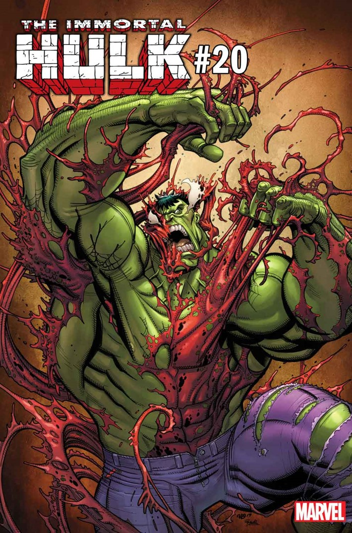 HULK-20 Marvel variant covers will be ABSOLUTELY CARNAGED this summer