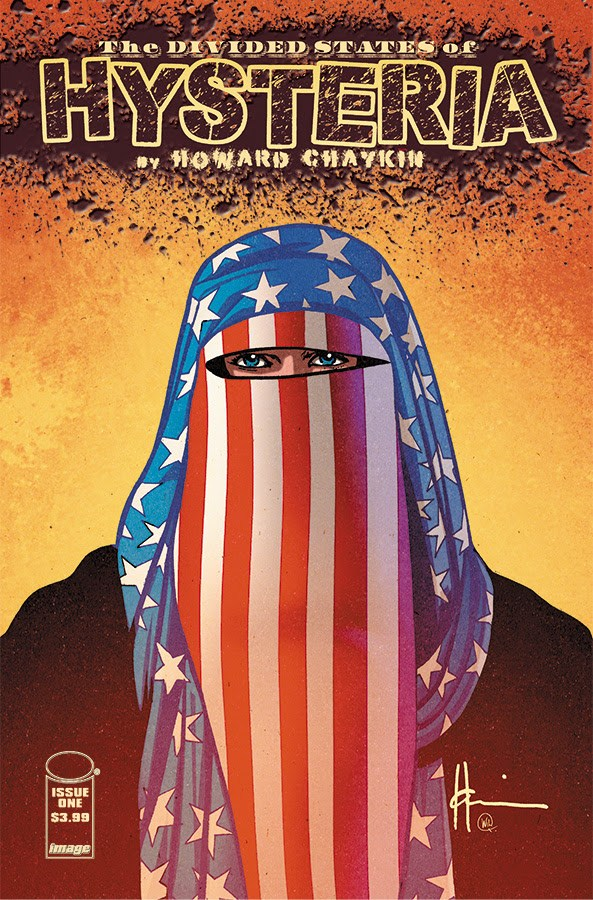 Hysteria-1-cover America is broken in Howard Chaykin's THE DIVIDED STATES OF HYSTERIA