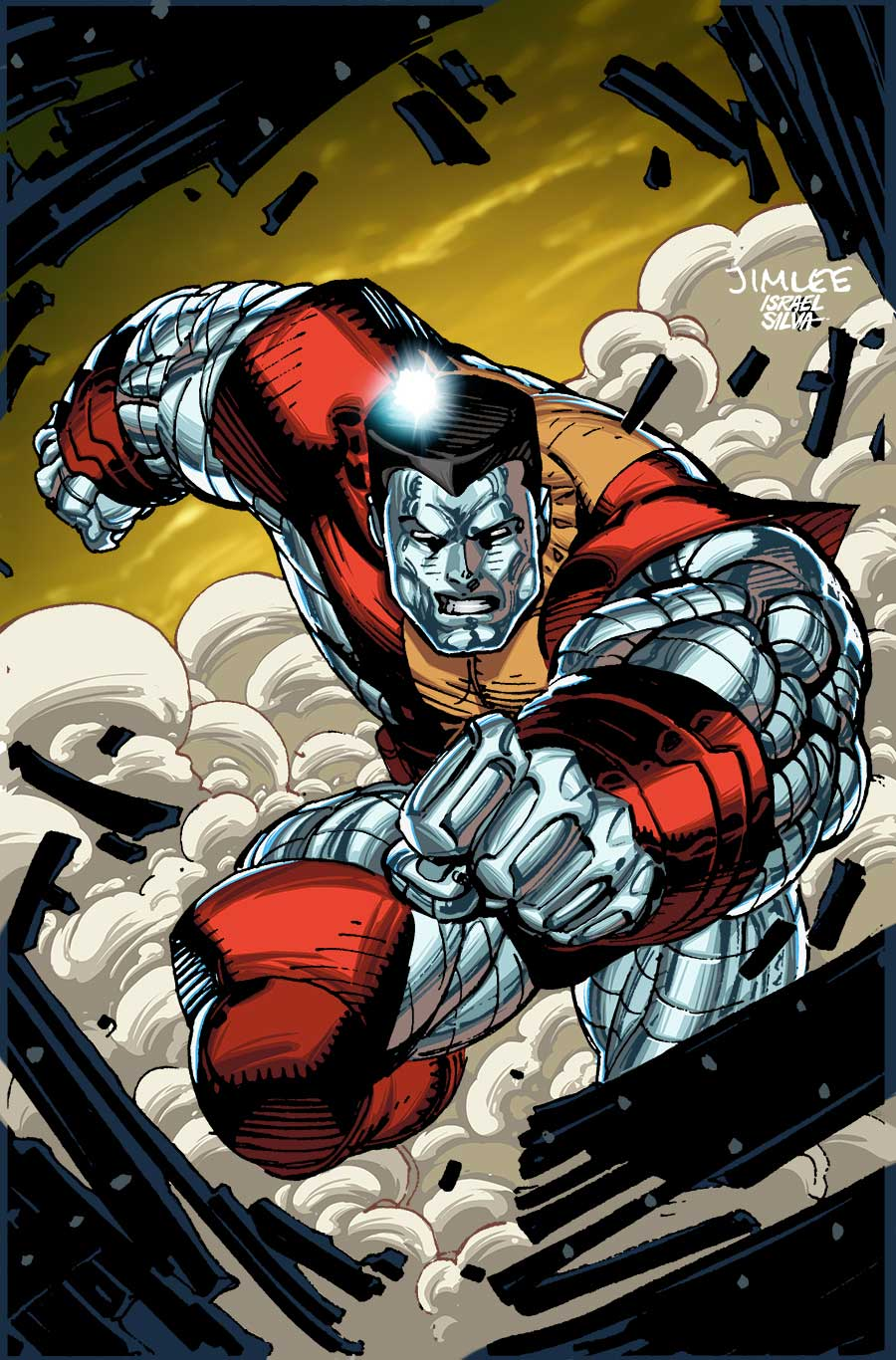 Invincible_Iron_Man_9_X-Men_Trading_Card_Variant July brings astonishing Jim Lee X-MEN TRADING CARD VARIANT COVERS