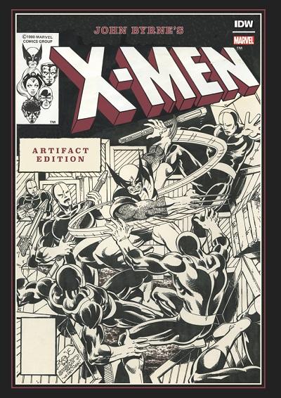 JohnByrne_XMen_Reg_Cov ComicList Previews: JOHN BYRNE'S X-MEN ARTIFACT EDITION HC