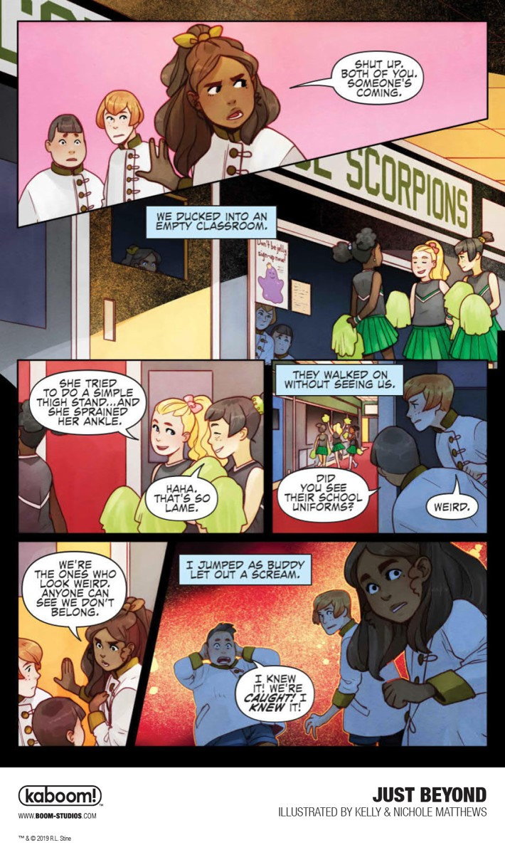 JustBeyond_OGN_InteriorArt_006_PROMO First Look at BOOM! Studios' JUST BEYOND: THE SCARE SCHOOL GN
