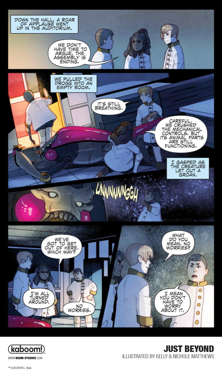 JustBeyond_OGN_InteriorArt_020_PROMO First Look at BOOM! Studios' JUST BEYOND: THE SCARE SCHOOL GN