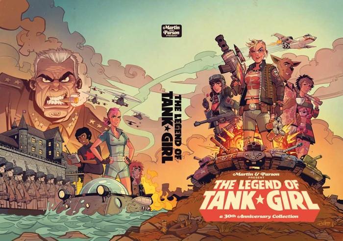Legend-of-Tank-Girl TANK GIRL 30th anniversary plans announced by Titan Comics