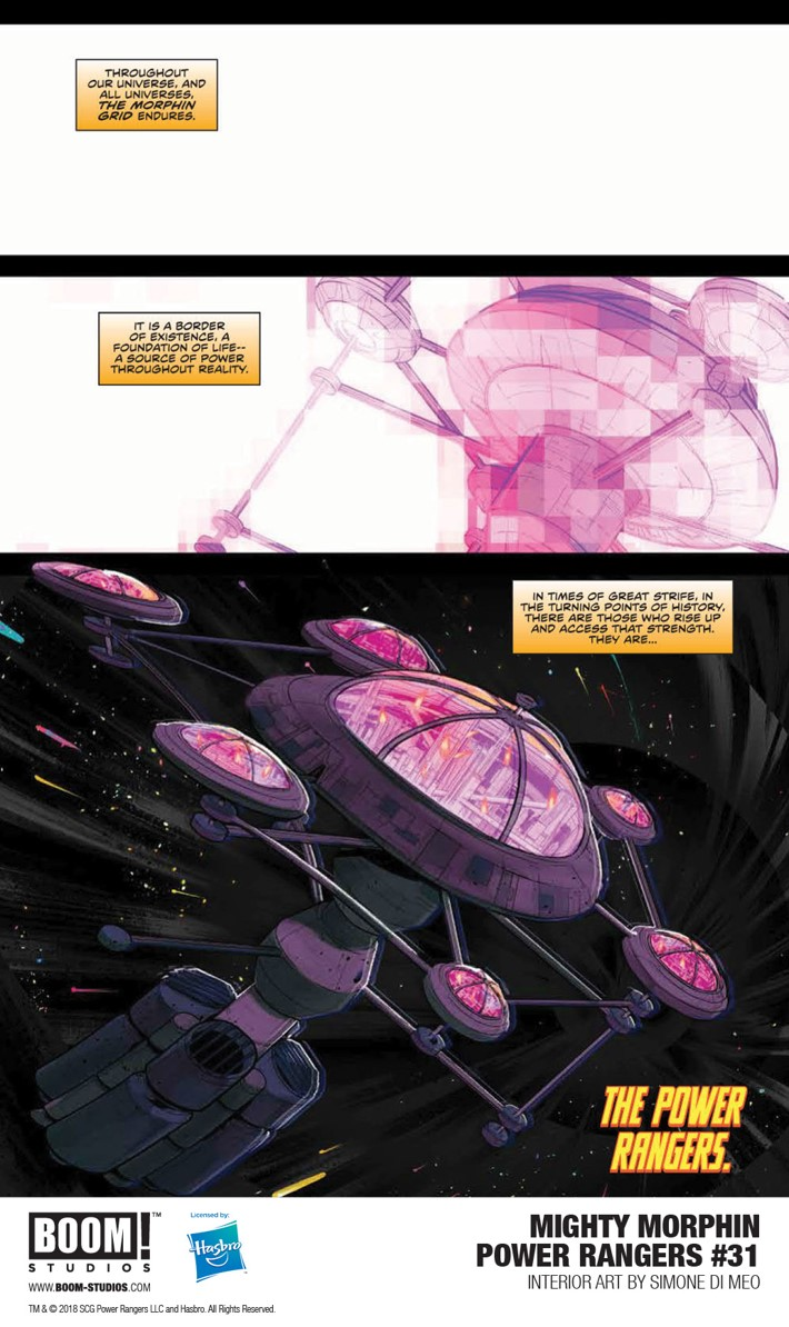 MMPR_031_Interior1_PROMO First Look at BOOM! Studios' MIGHTY MORPHIN POWER RANGERS #31