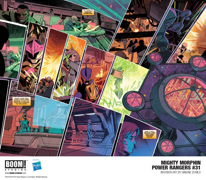 MMPR_031_Interior2_PROMO First Look at BOOM! Studios' MIGHTY MORPHIN POWER RANGERS #31