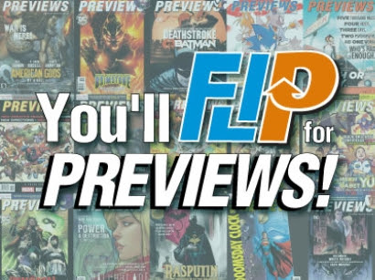 PREVIEWS_FLIPS PREVIEWS magazine loses DC Comics and gains new sections