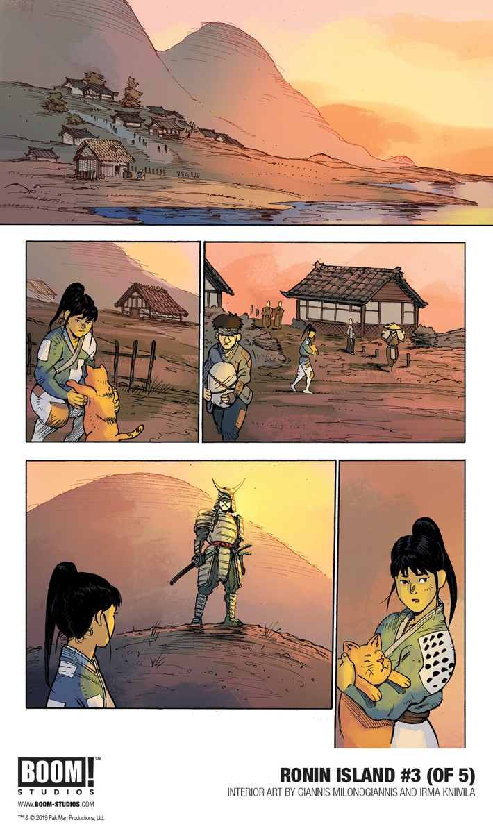 RoninIsland_003_InteriorArt_001_PROMO First Look at BOOM! Studios' RONIN ISLAND #3