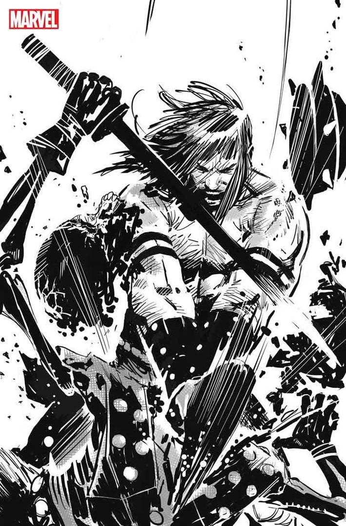SSCONAN005 Conan's THE CULT OF KOGA THUN returns in black and white