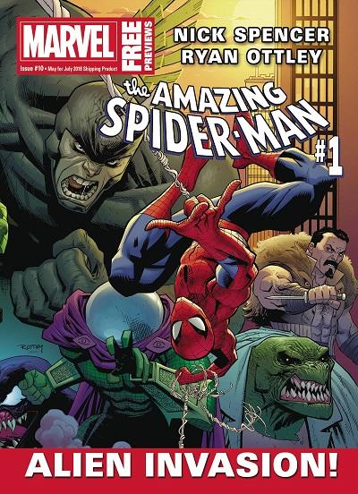 STL080831 ComicList: Marvel Comics New Releases for 04/25/2018