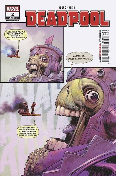 STL099402 ComicList: Marvel Comics New Releases for 08/29/2018