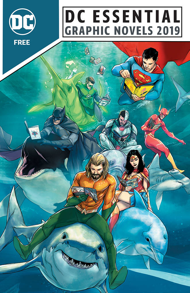 STL100735 DC ESSENTIAL GRAPHIC NOVELS 2019 assists in gift buying