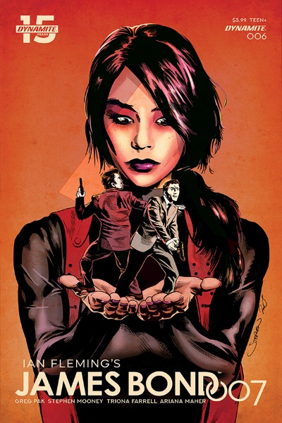STL114928 ComicList: Dynamite Entertainment New Releases for 04/17/2019
