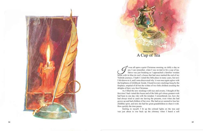 Santa_interiors14-15(1) Bill Sienkiewicz to illustrate SANTA: MY LIFE AND TIMES