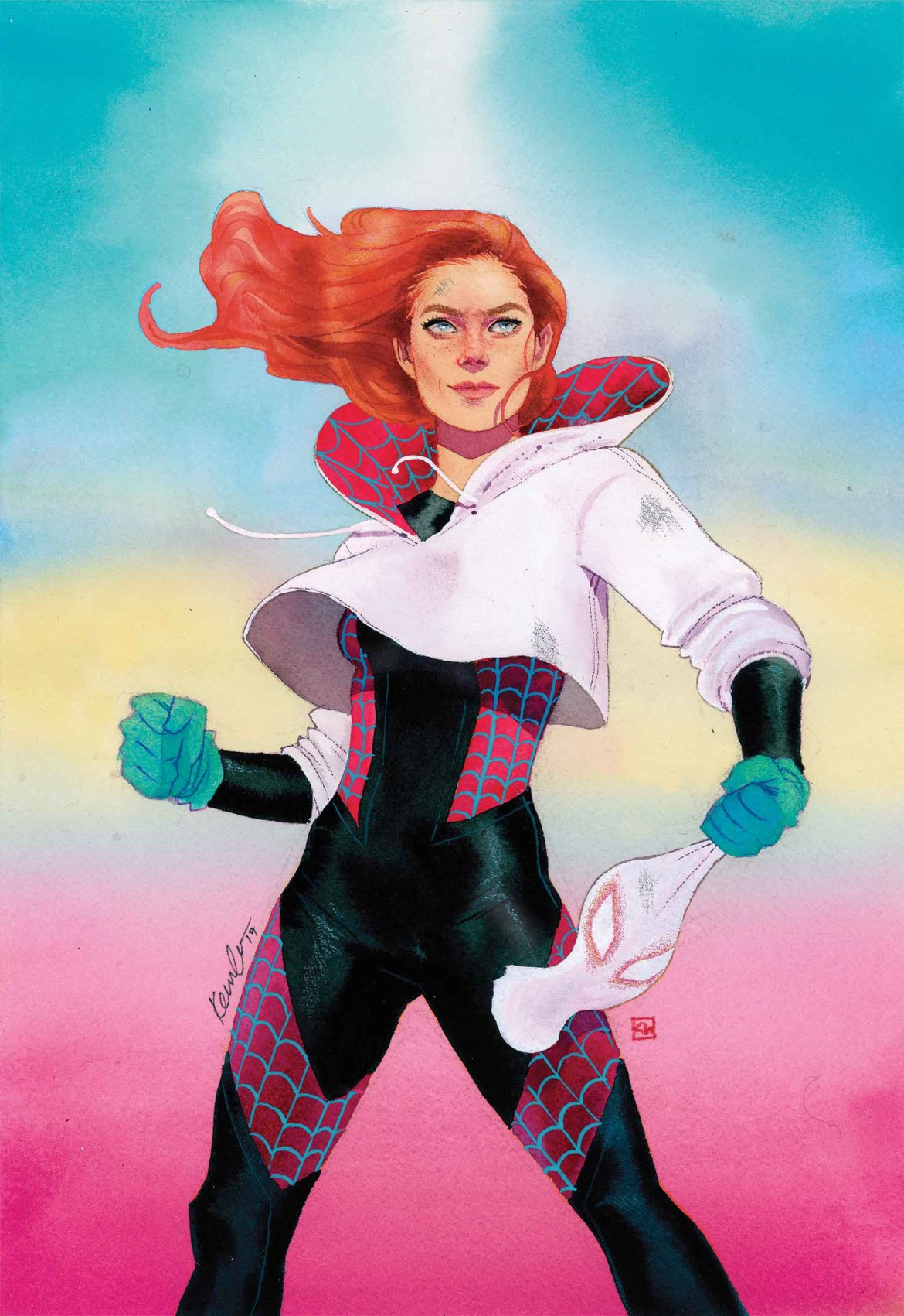 Spider-Gwen_21_Mary_Jane_Variant Spectacular MARY JANE WATSON VARIANTS hit the jackpot this June