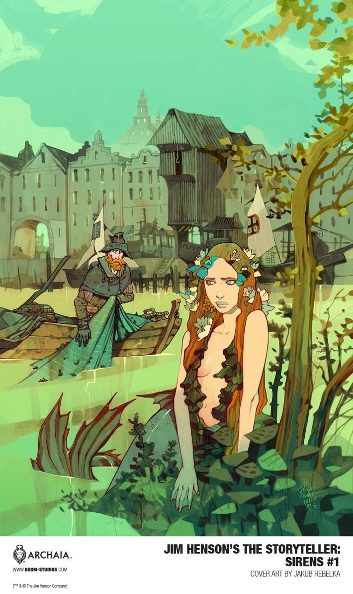 Storyteller_Sirens_001_Rebelka_PROMO First Look at BOOM! Studios' JIM HENSON'S THE STORYTELLER SIRENS #1