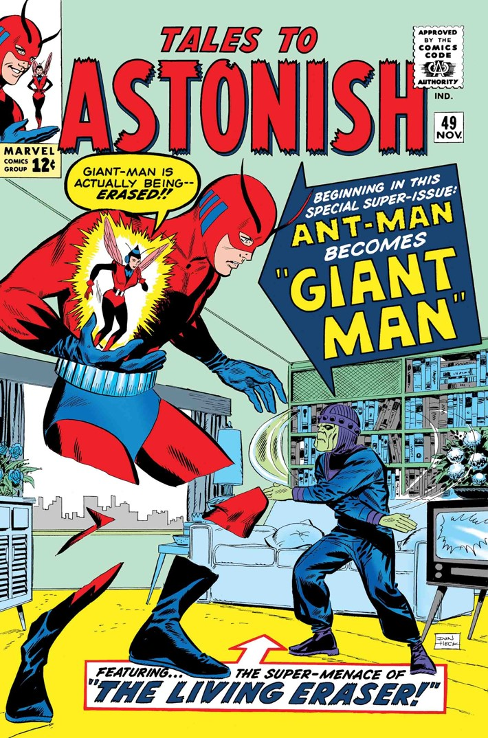 TB_ANTMAN_BIRTH ANT-MAN, GIANT-MAN and THE WASP earn TRUE BELIEVERS reprints