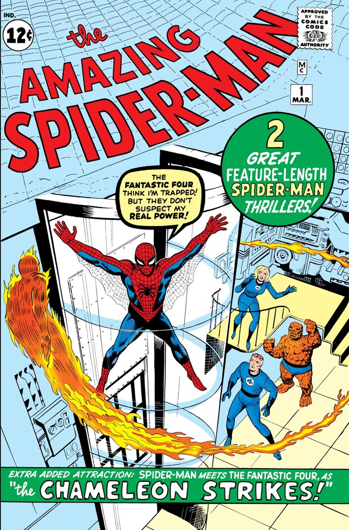 TB_ASM001CVR SPIDER-MAN will make a TRUE BELIEVER out of you this June