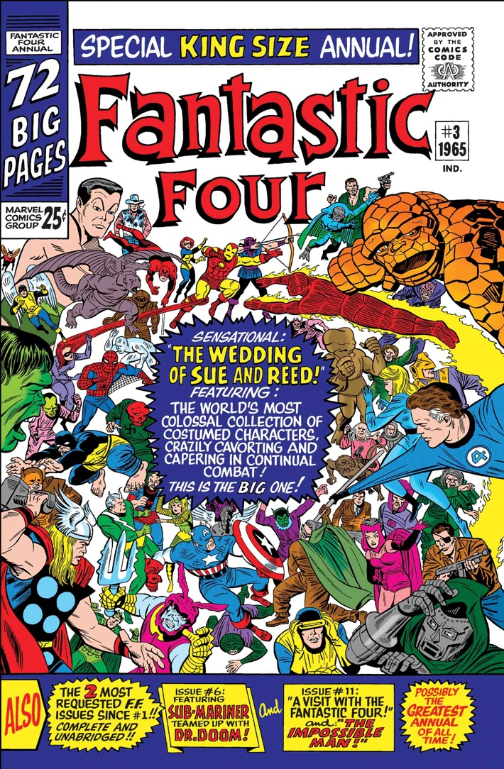 TB_FF_WEDDING The First Family returns in TRUE BELIEVERS: FANTASTIC FOUR reprints