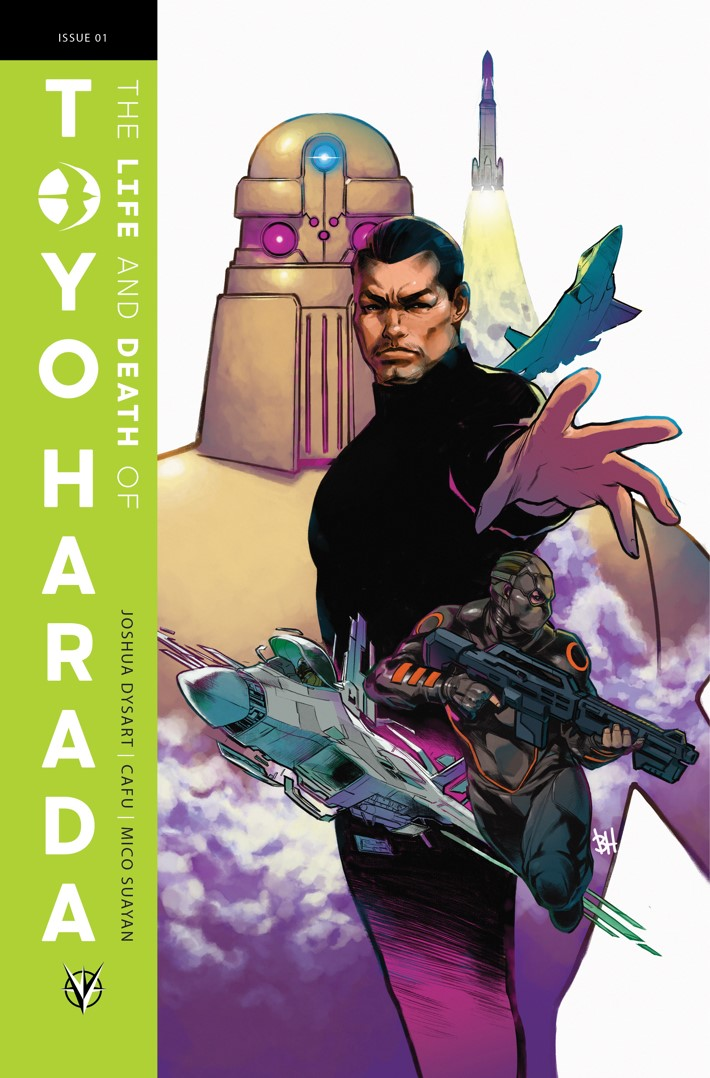 TOYO_001_COVER-B_HARVEY THE LIFE AND DEATH OF TOYO HARADA #1 to feature a glass variant