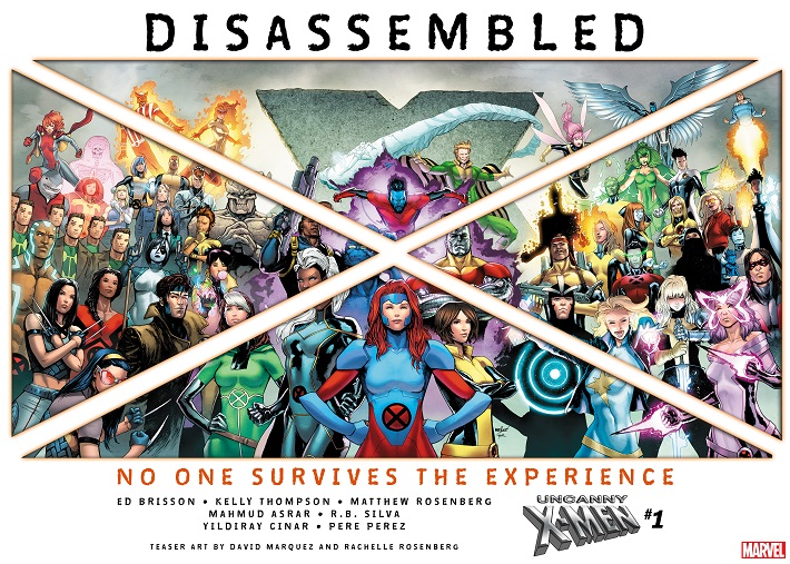 UNCANNY_X-MEN_TEASER X-MEN DISASSEMBLED begins this November in UNCANNY X-MEN #1