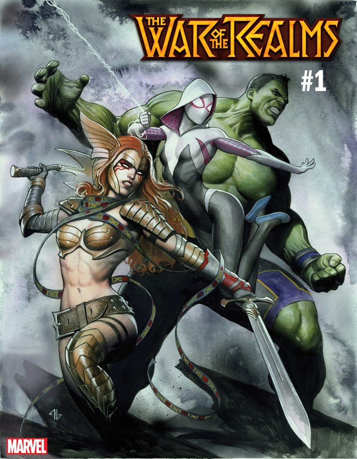 WOTR_GRANOV_VAR Marvel Comics unleashes two WAR OF THE REALMS variants