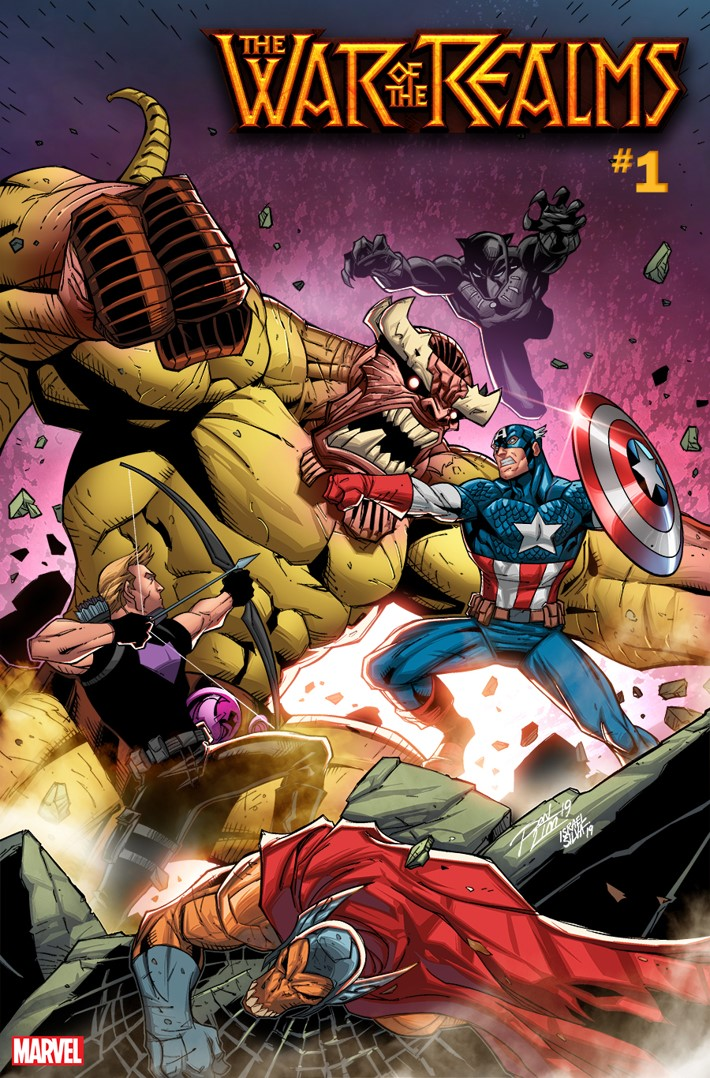 WOTR_RON_LIM_VAR Marvel Comics unleashes two WAR OF THE REALMS variants