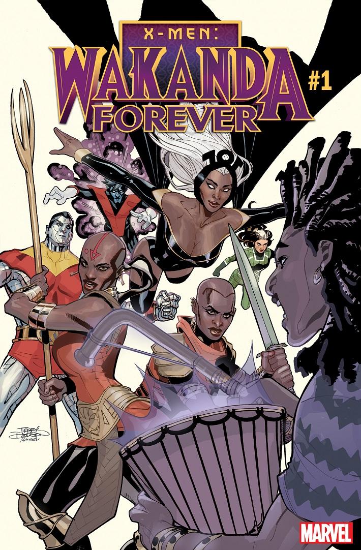 XMENWAKANDA_CVR Warriors and mutants meet in X-MEN: WAKANDA FOREVER