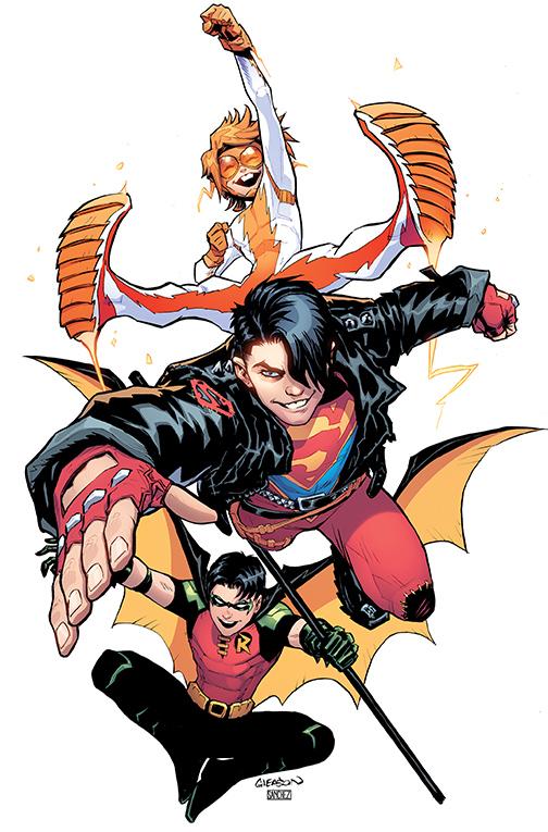 YOUNG_JUSTICE_Cv1 DC Comics January 2019 Solicitations