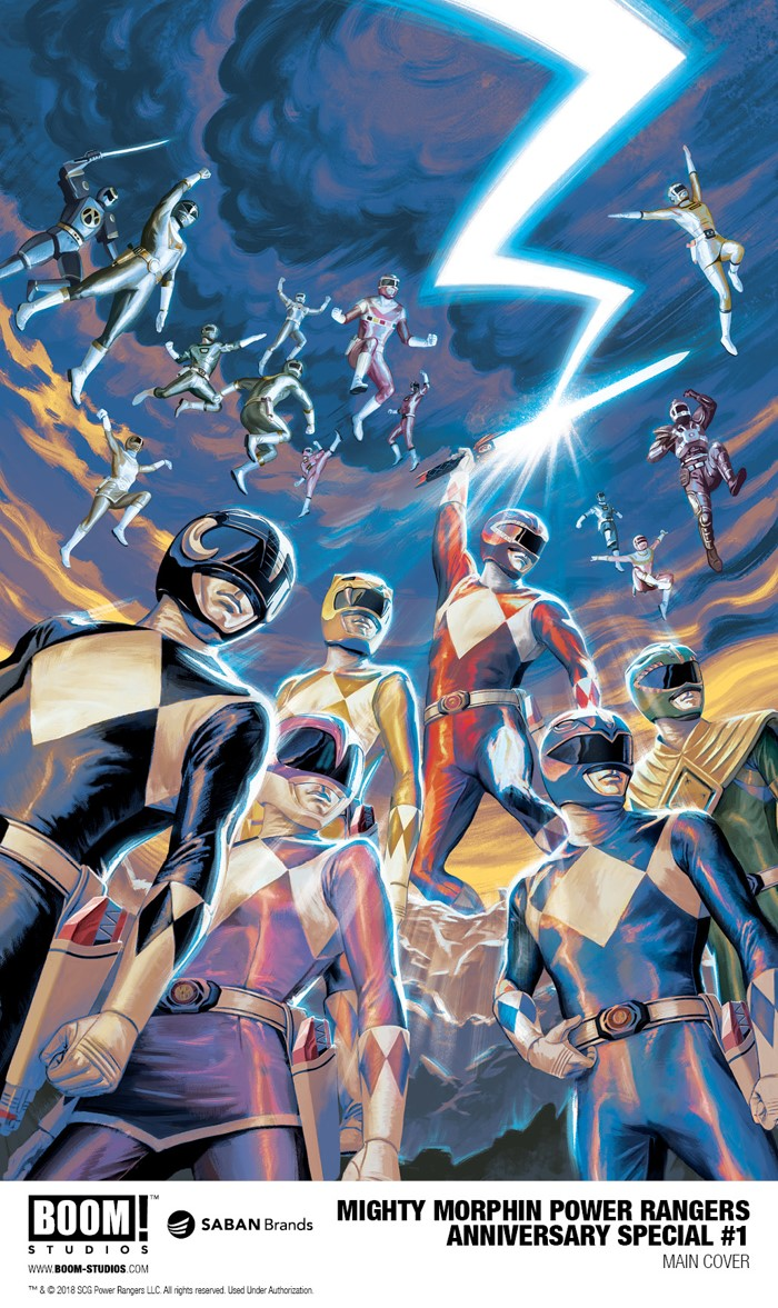 ba821388-88f9-48d9-830c-c96df0606f3a BOOM! Studios and Saban team up for POWER RANGERS 25th anniversary