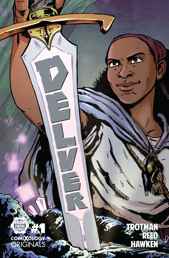 delver1 Co-writer C. Spike Trotman brings DELVER to ComiXology Originals