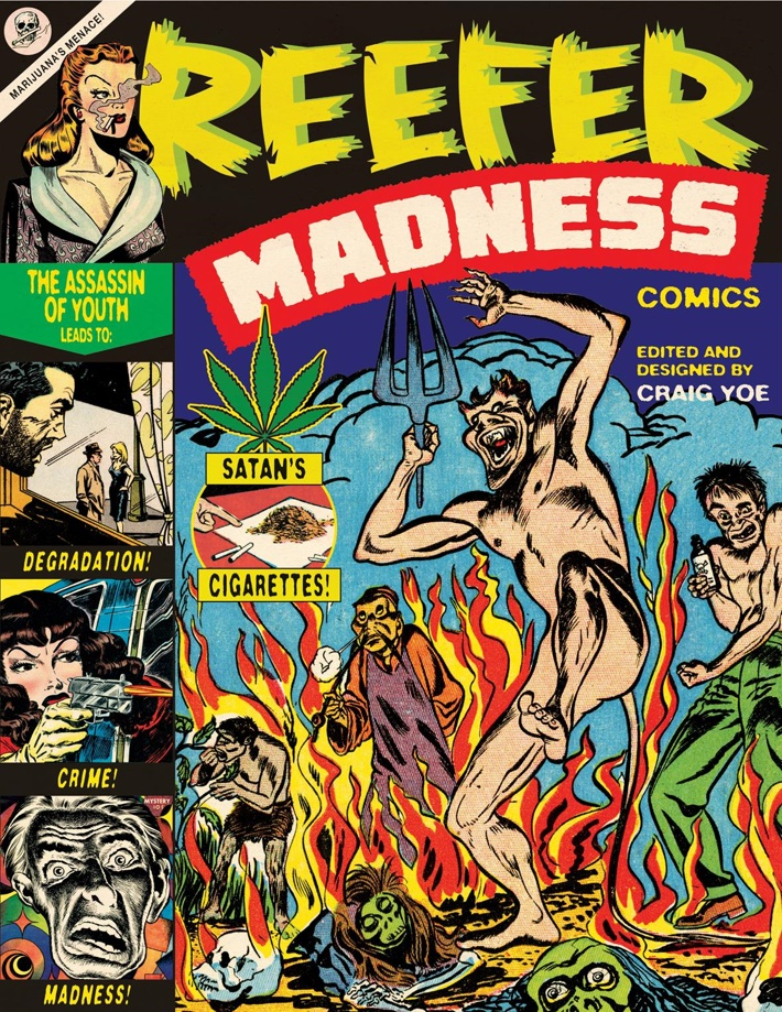 reefermadcov ComicList Previews: REEFER MADNESS TP
