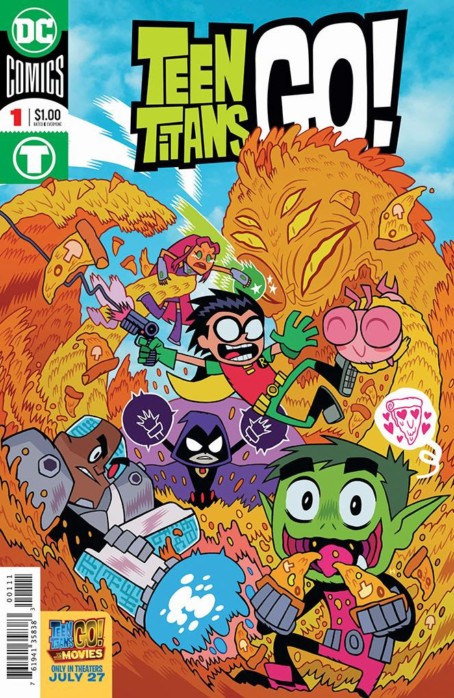 teentitansgo1 TEEN TITANS GO! TO THE MOVIES reprint to cost just $1.00