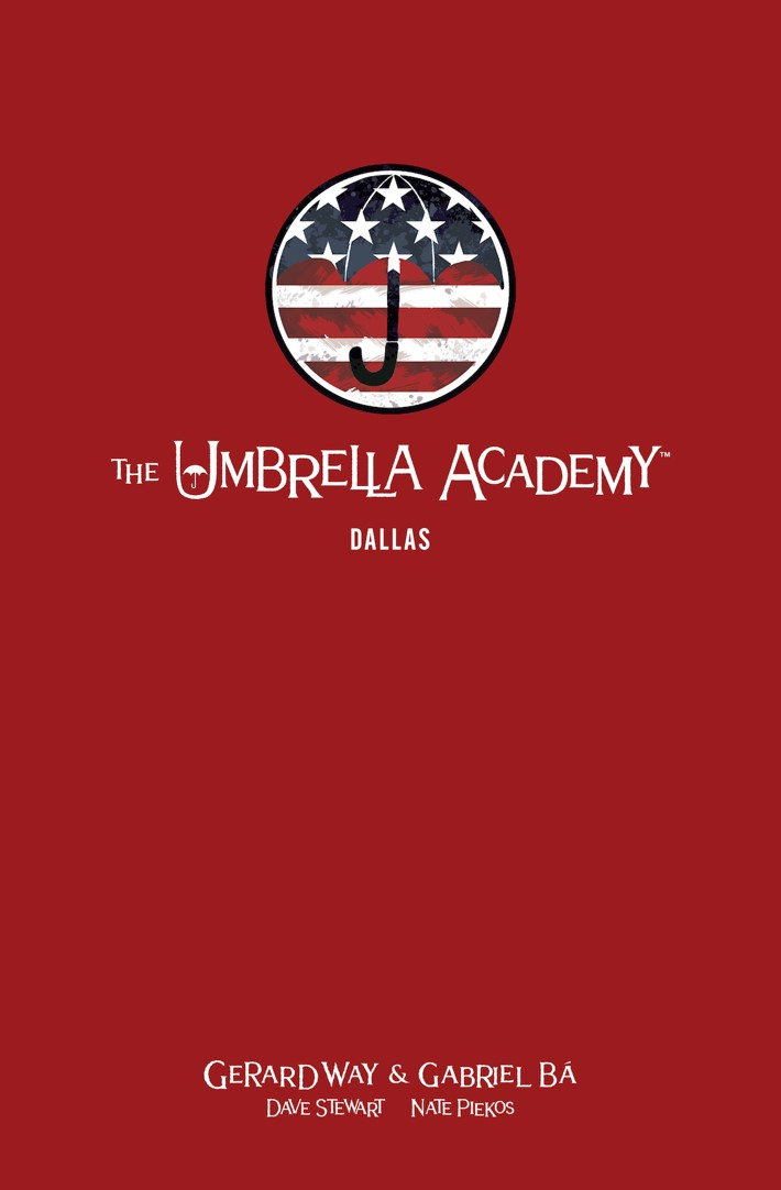 Dark Horse Announces THE UMBRELLA ACADEMY Library Editions