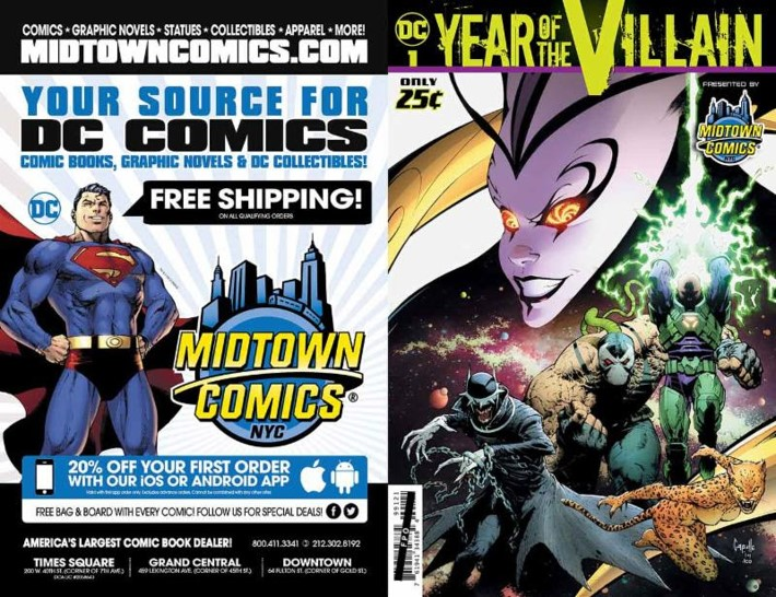 yearofthevillainvariant DC'S YEAR OF THE VILLAIN #1 available in customized edition