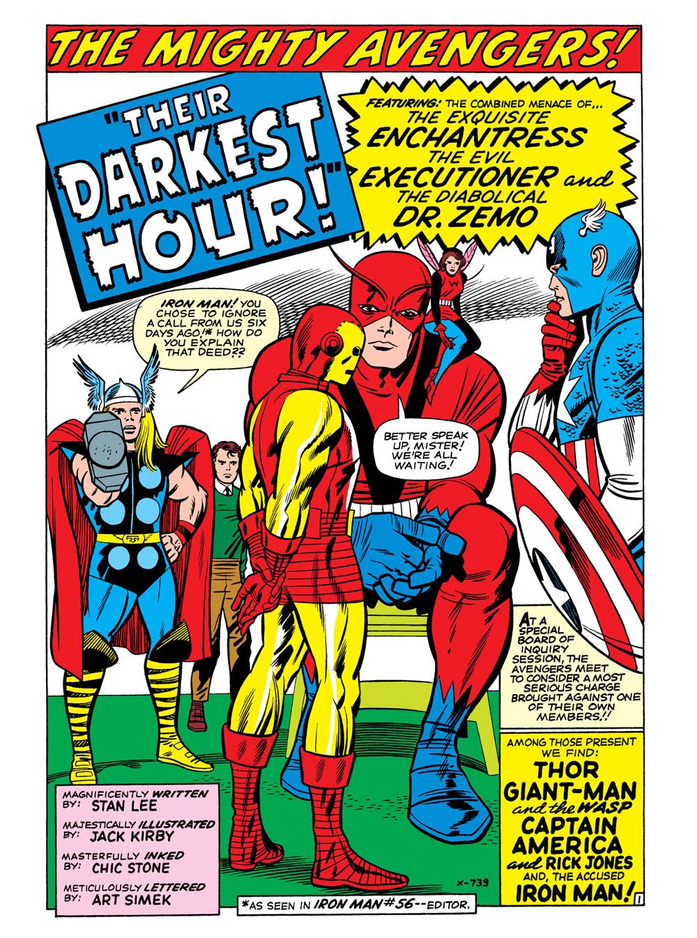 03_The-Avengers7_001 ComicList Previews: MARVEL COMICS DIGEST #6 (AVENGERS VS THANOS)
