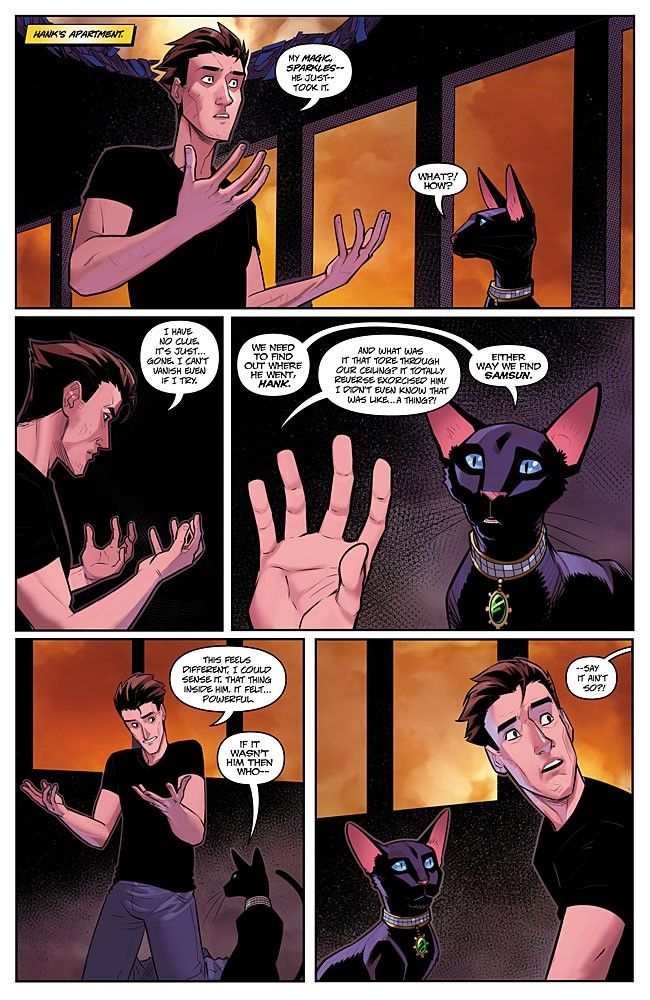 04-CHAR3-02-Aspen_1 ComicList Previews: CHARISMAGIC VOLUME 3 #2