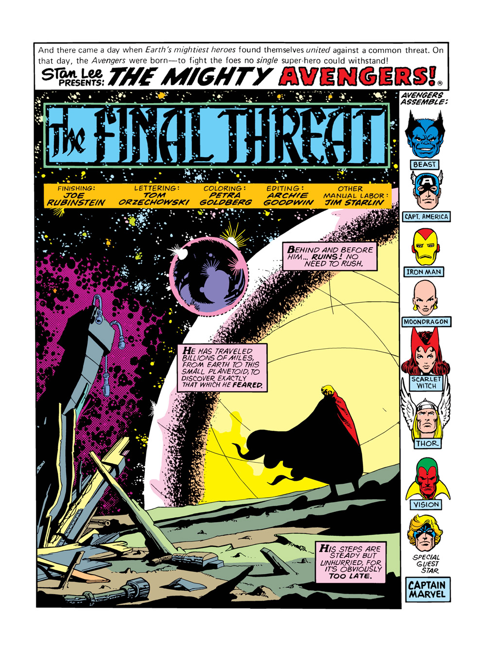 10_The-Avengers-Annual7_001 ComicList Previews: MARVEL COMICS DIGEST #6 (AVENGERS VS THANOS)
