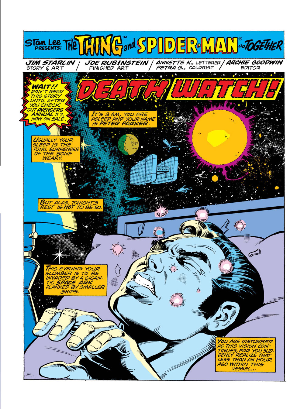 11_Marvel-two-in-one-2_001 ComicList Previews: MARVEL COMICS DIGEST #6 (AVENGERS VS THANOS)