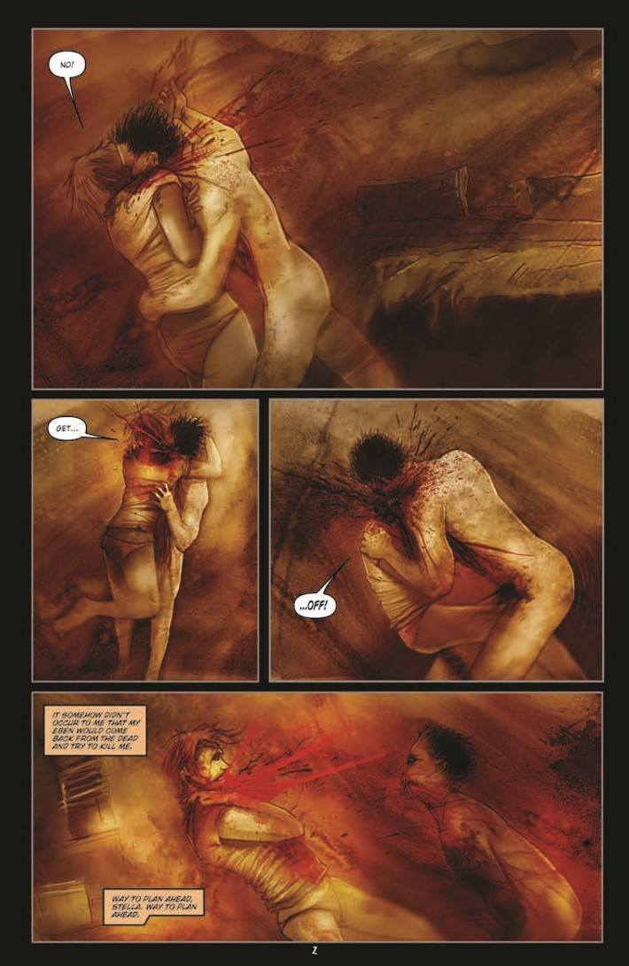30_Days_of_Night_100-pr-4 ComicList Previews: 30 DAYS OF NIGHT 100-PAGE GIANT #1