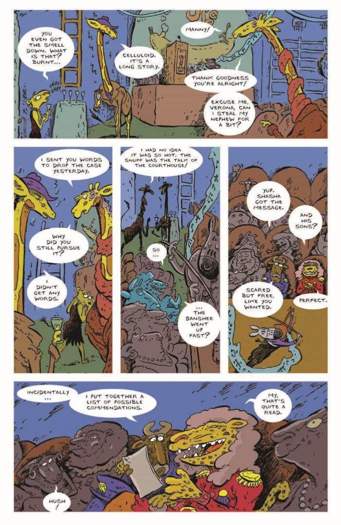 AN_03-pr-4 ComicList Preview: ANIMAL NOIR #3