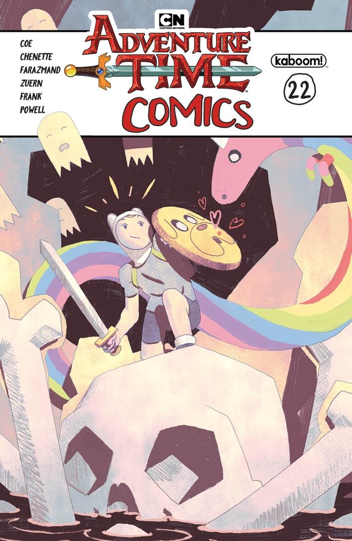 ATComics_022_A_Main ComicList Previews: ADVENTURE TIME COMICS #22
