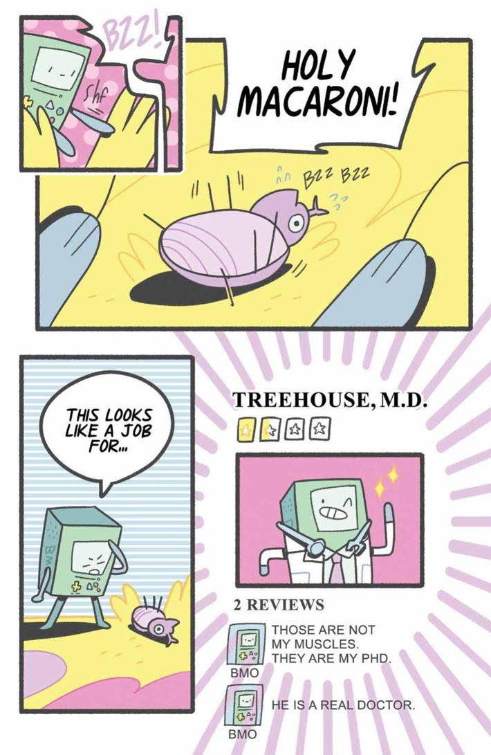 AT_BMOBonanza_PRESS_37 ComicList Previews: ADVENTURE TIME BMO BONANZA #1
