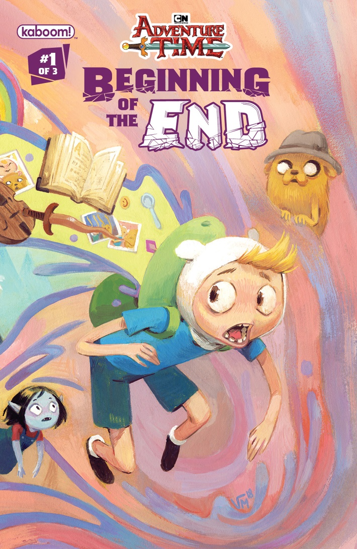 AT_Beginning_of_the_End_001_A_Main ComicList Previews: ADVENTURE TIME BEGINNING OF THE END #1
