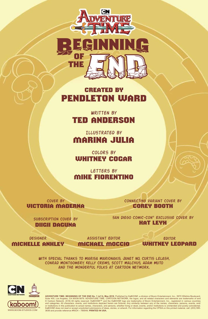 AT_Beginning_of_the_End_001_PRESS_2 ComicList Previews: ADVENTURE TIME BEGINNING OF THE END #1