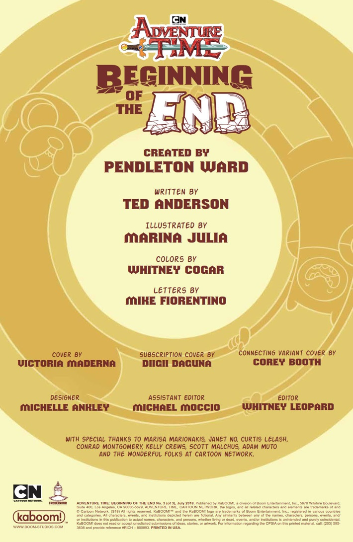 AT_Beginning_of_the_End_003_PRESS_2 ComicList Previews: ADVENTURE TIME BEGINNING OF THE END #3