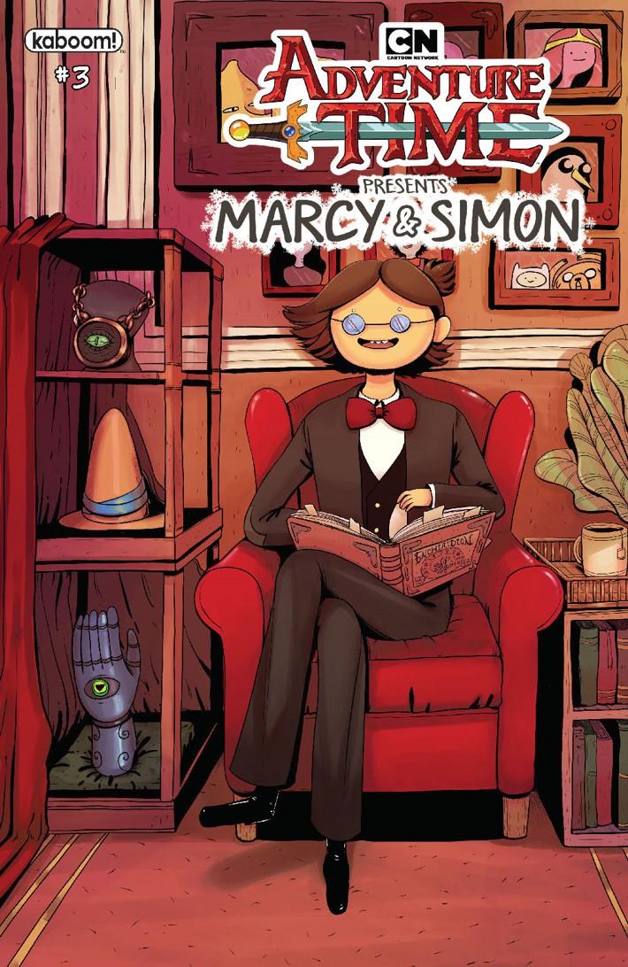 AT_MarcySimon_003_Cover_C_Preorder_Simon ComicList Previews: ADVENTURE TIME MARCY AND SIMON #3