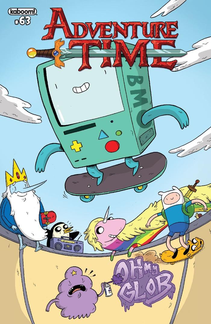 AdventureTime_063_COVER_B ComicList Preview: ADVENTURE TIME #63